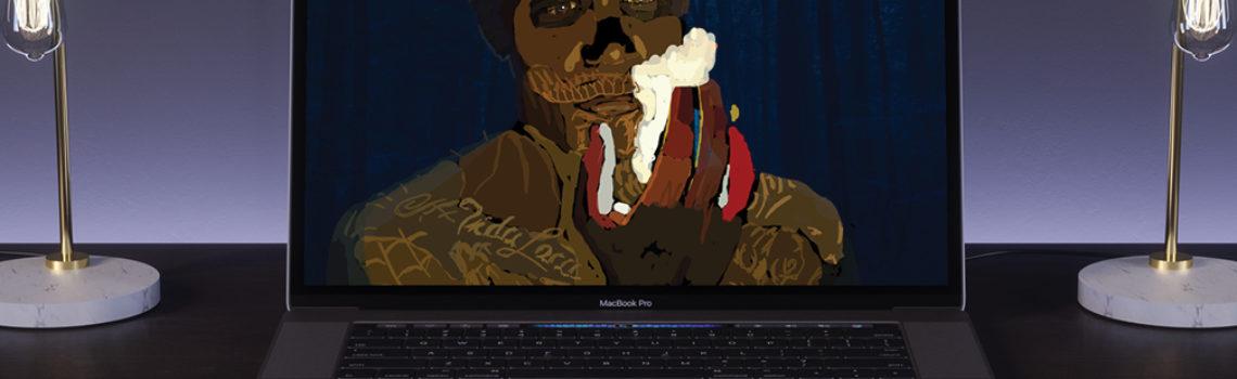 Digital Sketch: El Diablo